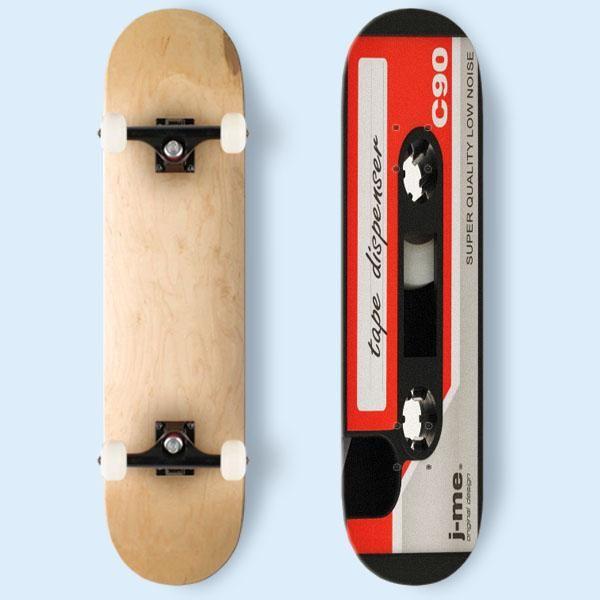 Retro Mix Tape Skateboard   Cozymoshi