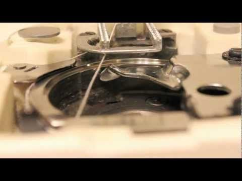How to Fix / Repair the Hook Timing on a Sewing Machine. If you have problem with thread getting caught in bobbin case, check this!
