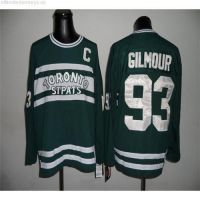 CCM Throwback men's Maple Leafs doug gilmour Green 93 smart jersey