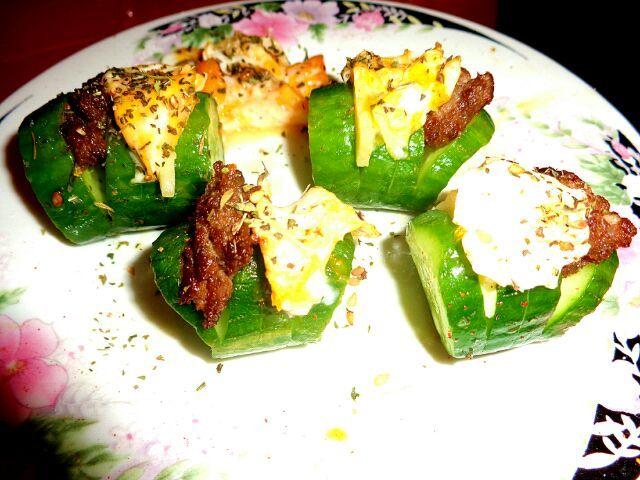 レシピとお料理がひらめくSnapDish - 15件のもぐもぐ - my version of Cucumber Seon 오이선 by Rea Suu 레수