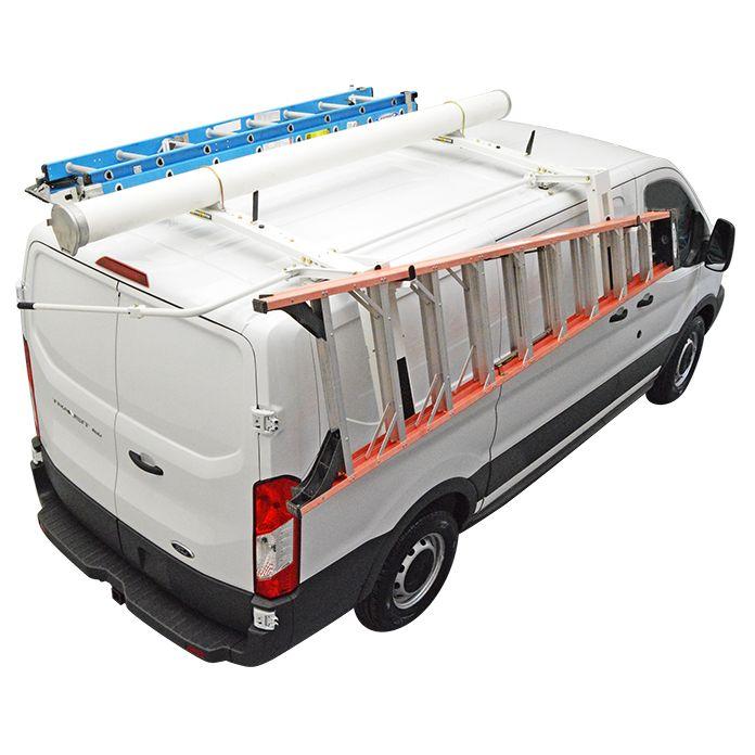 Ford Transit Nissan Nv Low Roof Cargo Van Drop Down Ladder Rack Ladder Rack Ladder Racks For Vans Ford Transit