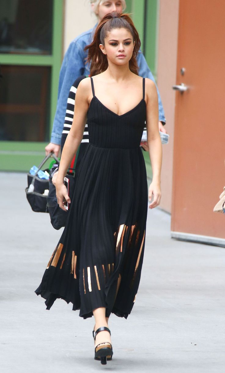 Selena Gomez News — June 8: Selena seen at Radio Disney Studios in...