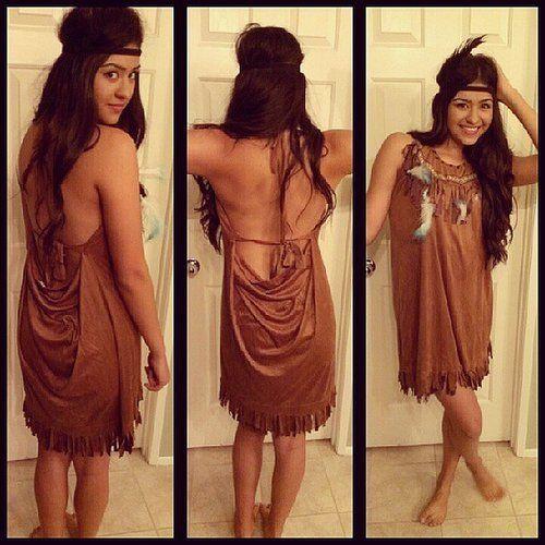 My Homemade Pocahontas Costume For Under 20