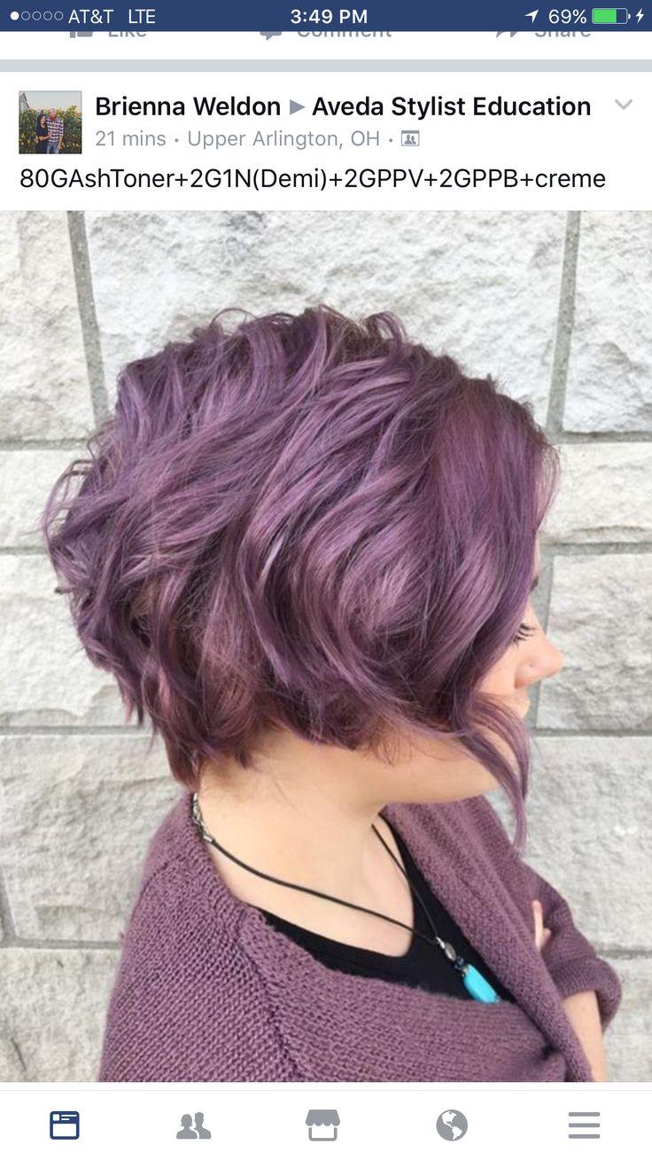 Aveda Hair Color Purple Toner Formulas Addiction Reference Makeup Digital Perm