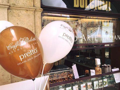 Apertura gelateria Caffè Meletti #nelcuorediascoli #prettogelatoarteitaliana