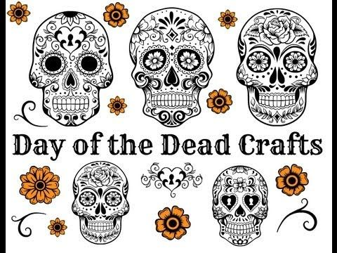 17 best images about dia de los muertos on pinterest for Day of the dead arts and crafts