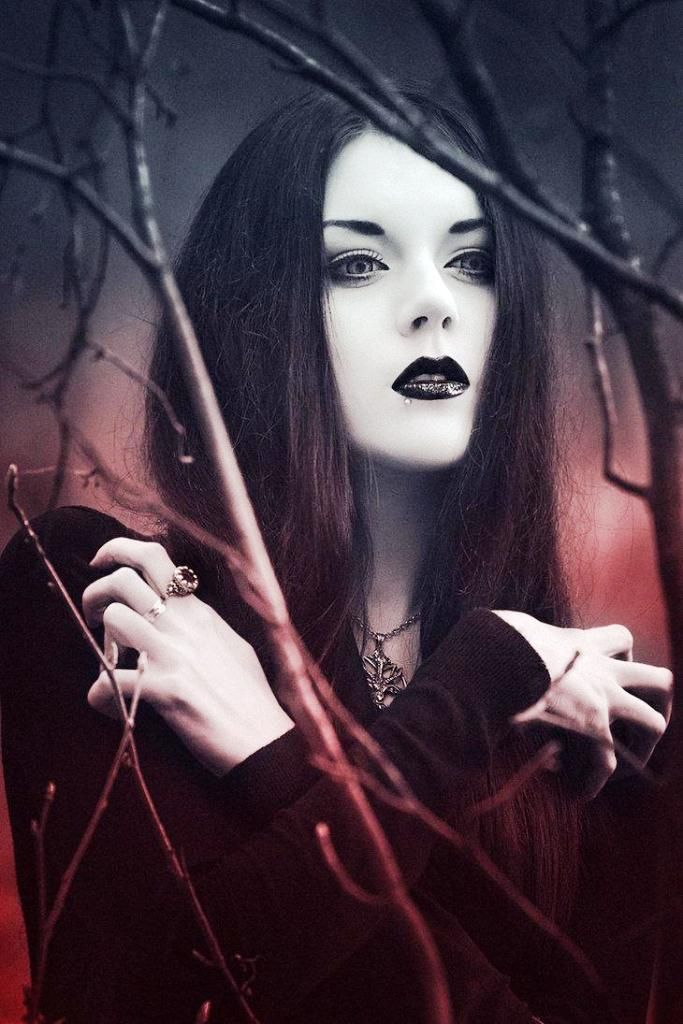 Les 13 meilleures images du tableau maquillage gothique halloween sur pinterest maquillage - Maquillage vampire halloween ...
