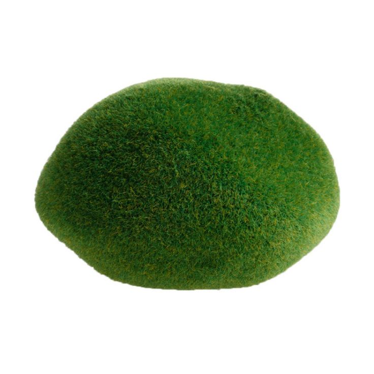 Green Artificial Moss Stones - 3 Sizes