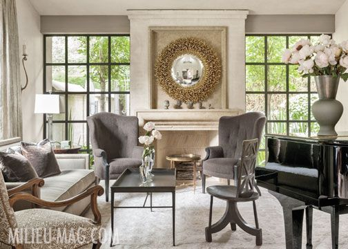 Principal Designer Of Austin Based Abode Fern Santini Directs The Creation Unique And Striking Interiors That Have Been Featured In Metropolitan Home