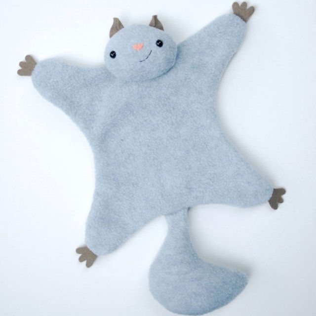 Faire un doudou écureuil tout doux pour son petit   Make a soft squirrel for your little one