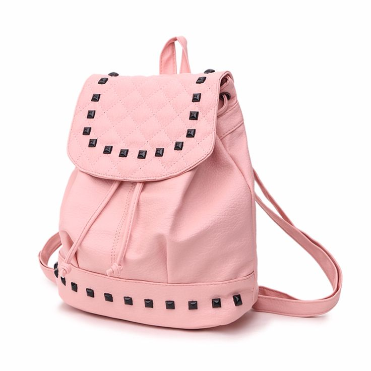 Leather Women Fashion Backpack //Price: $11.95 & FREE Shipping //