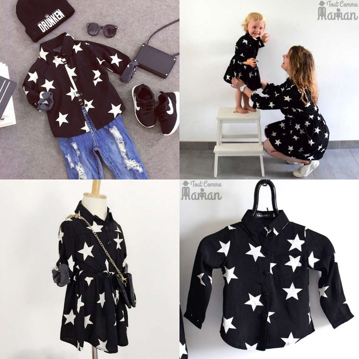 1000 id es sur le th me tenues m re fille sur pinterest tenues assorties tenues assorties - Ensemble mere fille ...