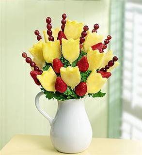 edible arrangements fruit bouquet pitcher of fruit yelp food