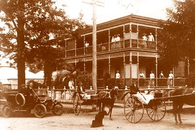 "Runnymede Private Hospital, Cnr. Queen and Fitzroy Streets, Grafton. One of the best known private hospitals in Grafton was that of Runnymede. Owned by Dr. T. J. Henry, it was the birth place of many Grafton people who were born in the first half of this century. The following report in the Grafton ""Argus"" of the 19th January, 1910, contains some interesting facts about the hospital."
