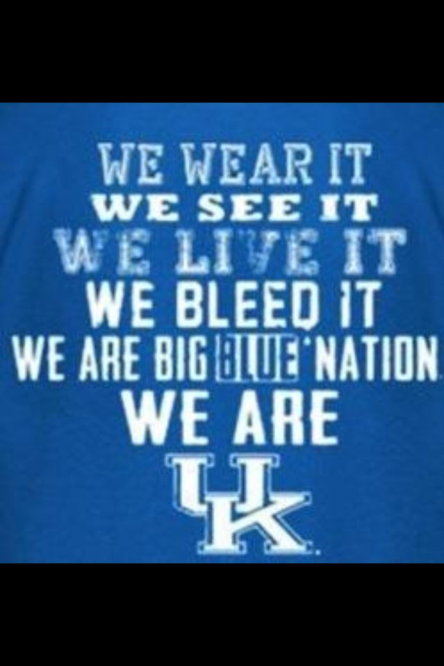 We are UK! Kentucky | Basketball | BBN | Go Cats | Go Big Blue!