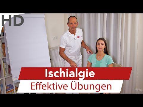 Ischialgie - Effektive Übungen bei Ischiasschmerzen LNB Schmerztherapie