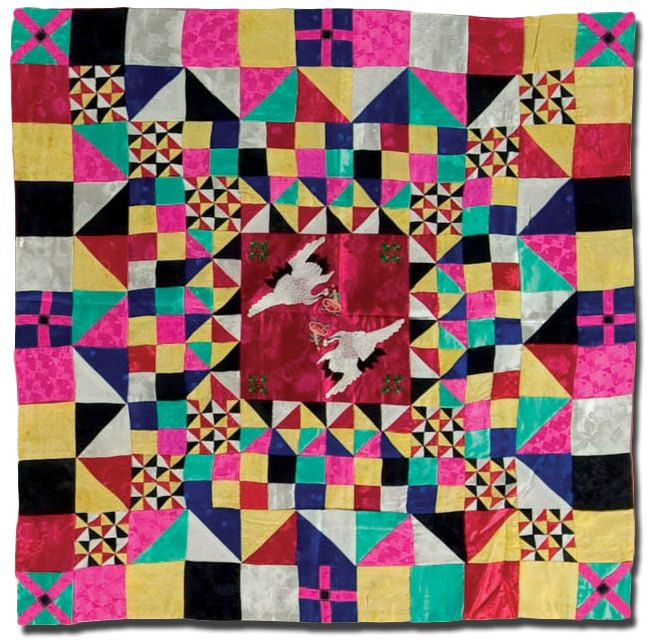 IQSCM | Exhibitions | Pojagi: Patchwork and Quilts from Korea
