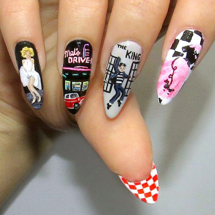 124 best Stilleto nails images on Pinterest | Cute nails, Nail art ...