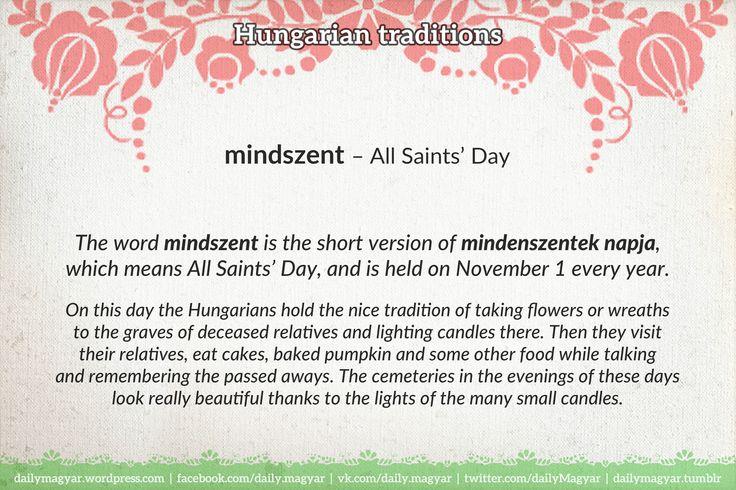 mindszent – All Saints' Day https://dailymagyar.wordpress.com/2016/10/29/mindszent/ #Hungarian#language #traditions #Hungary #AllSaintsDay #mindszent