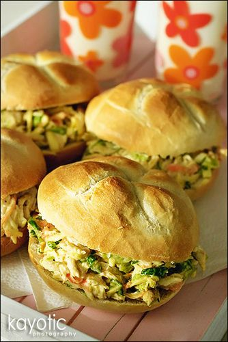 Wonder if this tastes anything like the Whole Foods curried chicken salad.  If so, yummy!