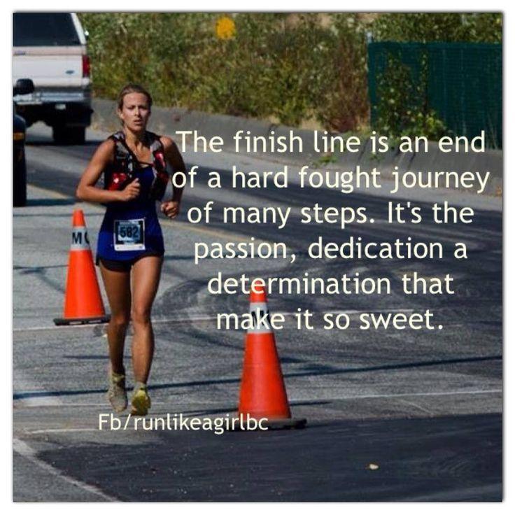 Love the finish line