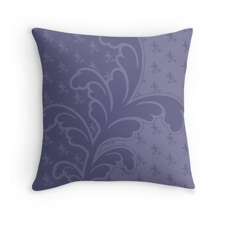 Ferny Mauve - pillow