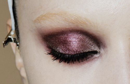 make-up at Gucci fall 2013 rtw