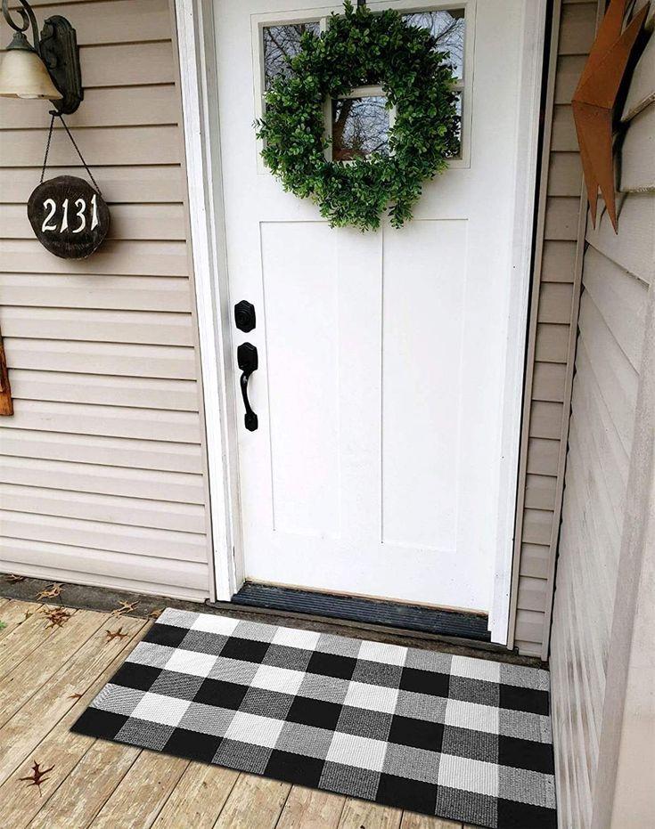 Makes A Perfect Door Mat Kitchen Rug Bathroom Rug Entry Way Rug Apartment Rug Farmhouse Entry Way Front Door Welcomemat Welcome Frontdoor In 2020