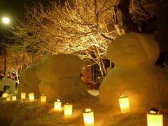 みちのく五大雪まつりのひとつ弘前城雪燈籠まつりが2月9日から行われますよ 桜の名所である弘前城下に200基に及ぶ大小様々な燈籠や雪像が設置され灯りがともされます 雪と光のファンタジーを弘前で体験してみませんか  開催期間2017年2月9日木12日日 開催場所弘前公園弘前城跡 夜間照明16:30(日没)21:00まで 入 場 料無料 tags[青森県]