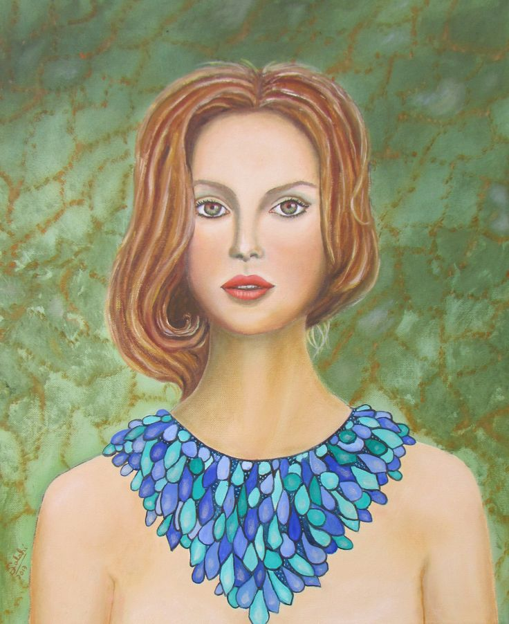 La dama del collar. Eduardo Salinas Rozas.