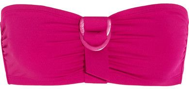Eres - Petula Tiffany Bandeau Bikini Top - Magenta