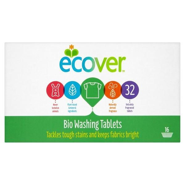 Ecover Biological Washing Tablets 32 Per Pack #clean #home #homecare #wash