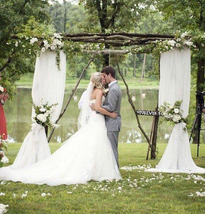 Nuntă handmade în aer liber - cum să creezi o nuntă de vis
