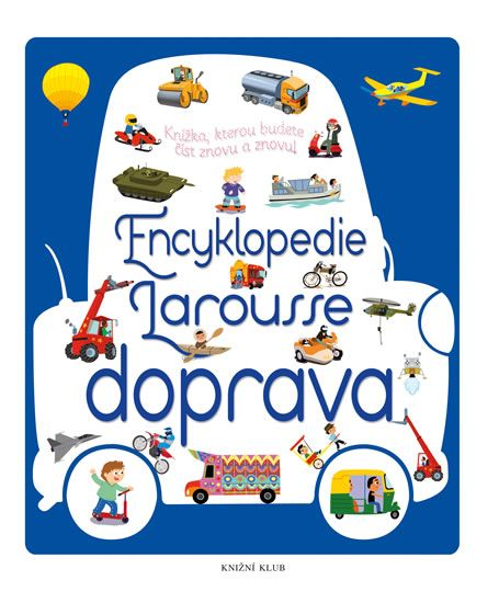 Kniha Encyklopedie Larousse - doprava   bux.cz