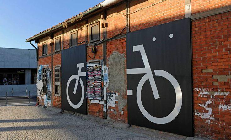 ciclovia Belem - Cais do Sodrè Lisbon #portugal #bike #culture #place_making