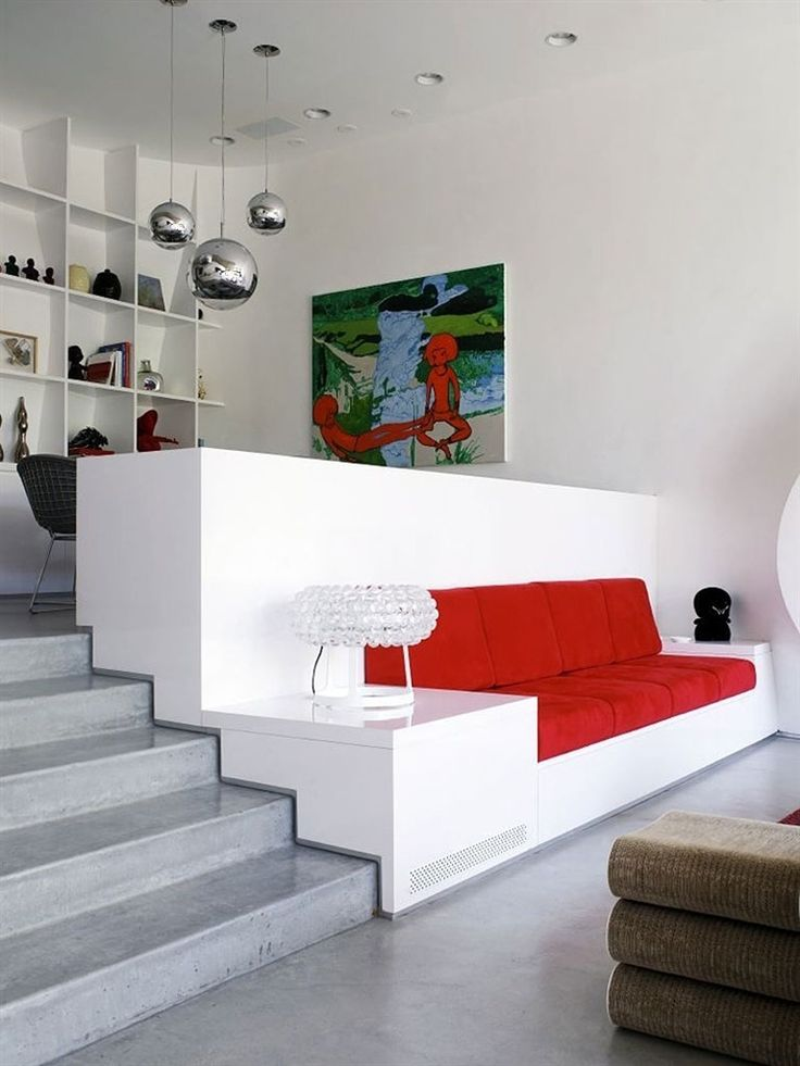 Bloom House by Greg Lynn (Sofa Idea, Change color to black and white)
