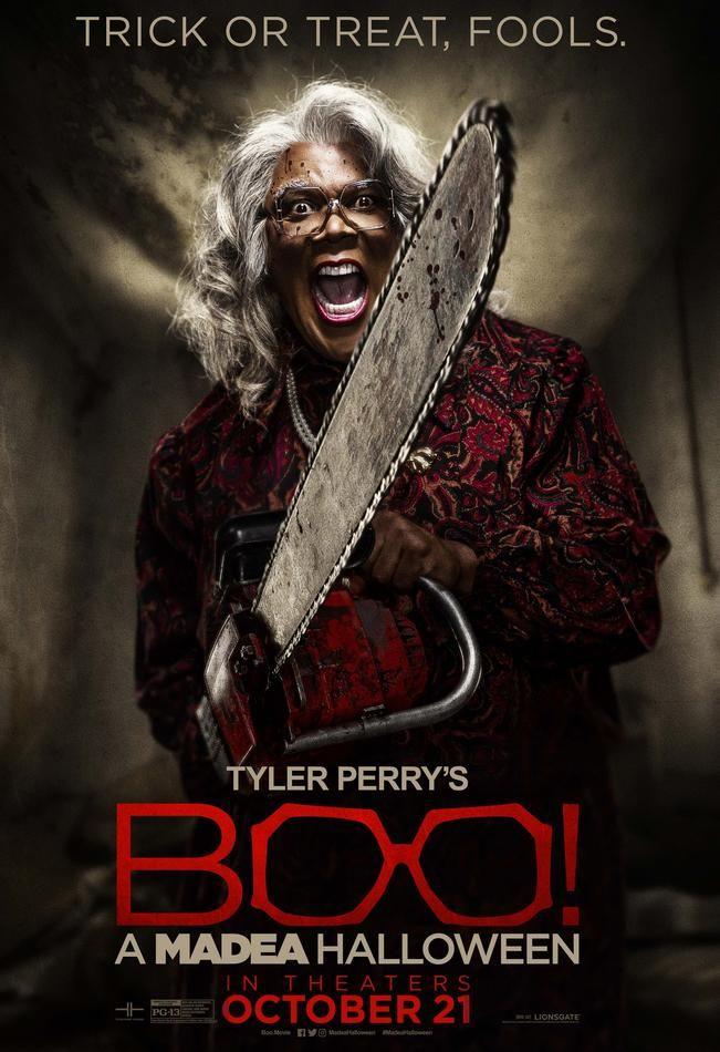 Boo! A Madea Halloween Official Teaser Trailer #1 (2016) Tyler ...
