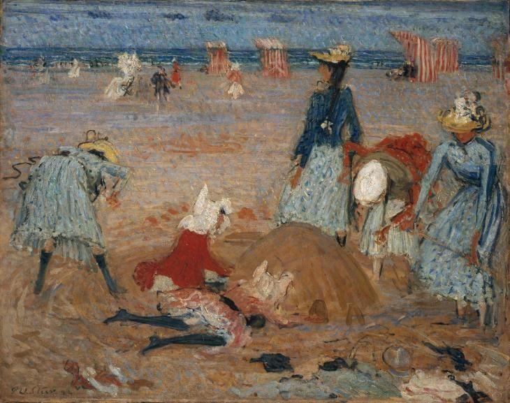 Philip Wilson Steer 'Boulogne Sands', 1888–91 Tate