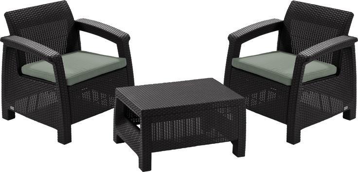 Метки: Плетеные кресла для дачи, Садовые кресла из ротанга.              Материал: Пластик.              Бренд: Keter.              Стили: Классика и неоклассика.              Цвета: Коричневый, Темно-коричневый.