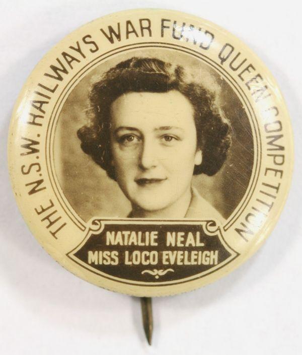 WW2 NSW Railways War Fund Queen Competition - Natalie Neal - Miss Loco Eveleigh