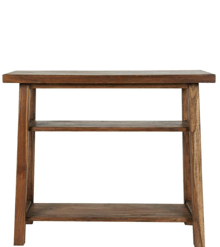 Sherwood Console Unit - A classic trestle style range, every single item within our Sherwood collection has been beautifully crafted and individually finished to create a unique aged and distressed appearance. Made from solid wood and wood veneer constructed around balsa wood. - Sherwood