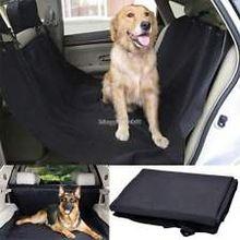 600D pet protector de asiento de coche, hamaca mascota cubierta de asiento de coche