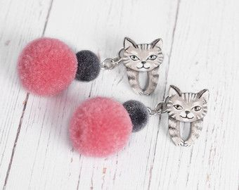 Hedgehog Earrings 16 Cute Tiny Pygmy Hedgehogs by VaniLlamaArt
