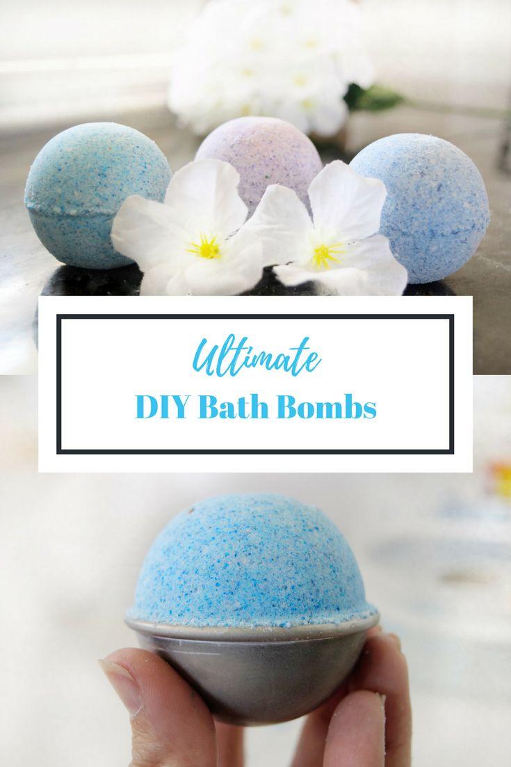 Ultimate DIY Bath Bombs