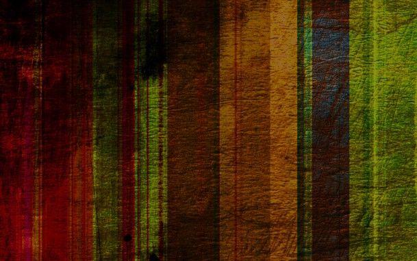 Заляпанные цветные полосы