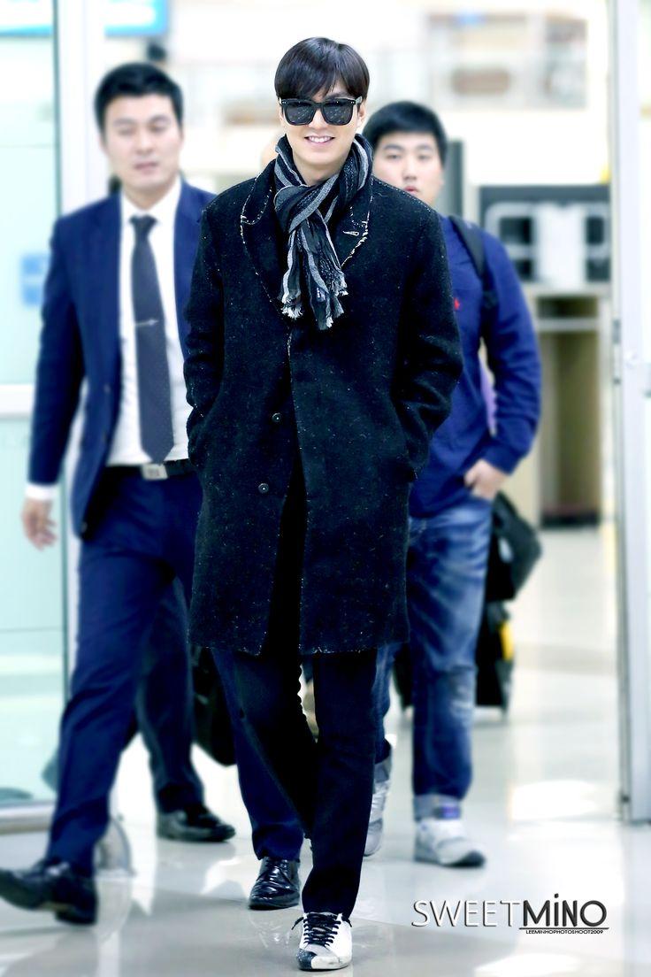 Lee Min Ho | Gimpo airport (141104)
