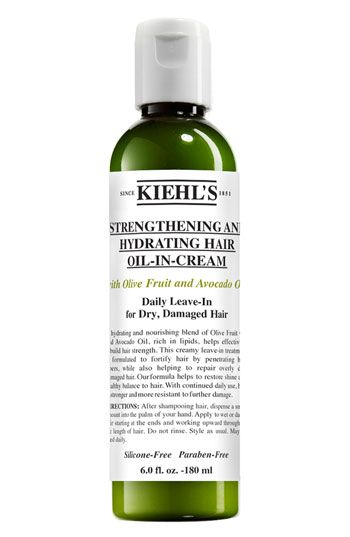 Kiehls Since 1851 Olive Fruit Oil Strengthening & Hydrating Hair Oil-in-cream From Shop.Nordstrom.com