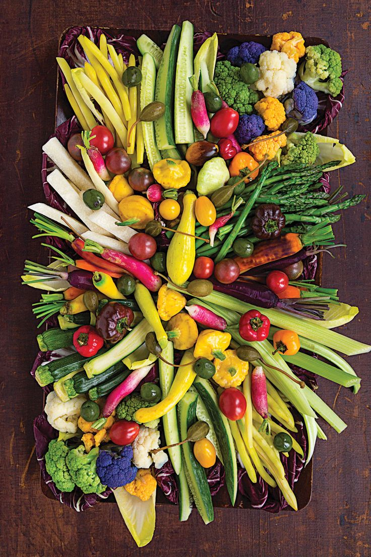 Beautiful crudite platter