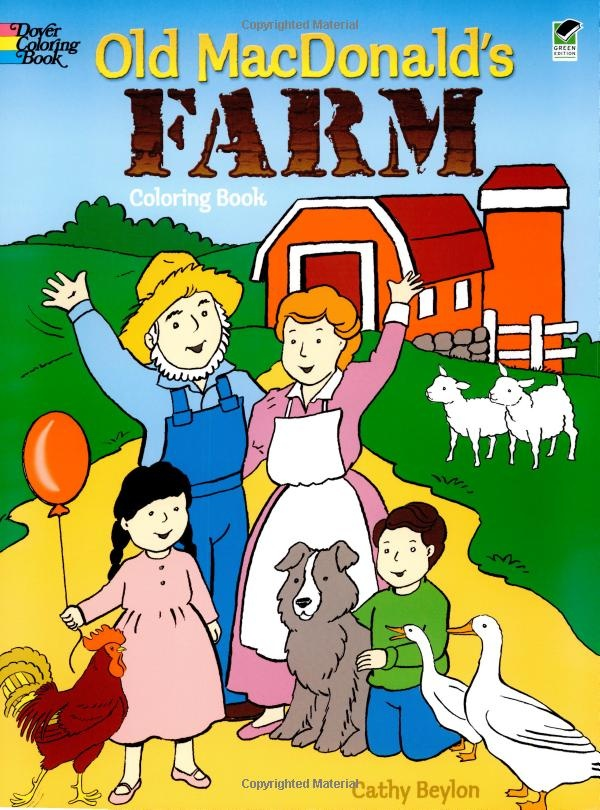 Amazon Old MacDonalds Farm Coloring Book Dover Books 9780486430348