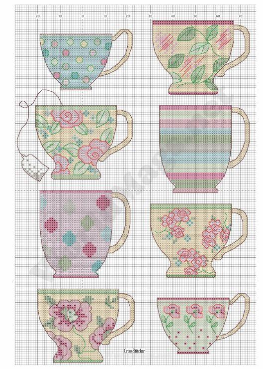 Gallery.ru / Photo # 86 - Cross Stitcher 250 2012.03 - Los-ku-tik